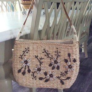 Summer Purse, Beach Style With A Shell Design